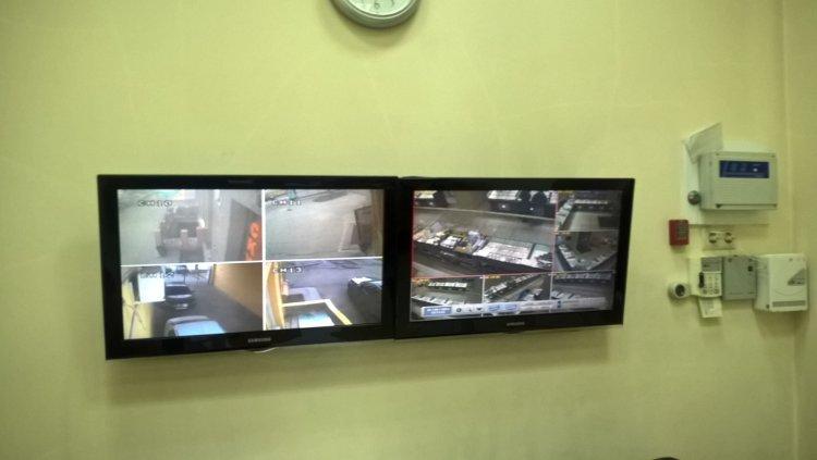 Установка видеонаблюдения в ювелирном магазине