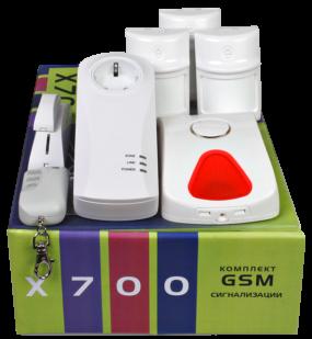 GSM сигнализация X700