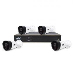 ATIS PIR kit 4ext 5MP Комплект видеонаблюдения