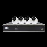 ATIS PIR kit 4int 5MP Комплект видеонаблюдения