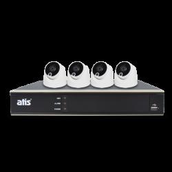 ATIS PIR kit 4int 2MP Комплект видеонаблюдения